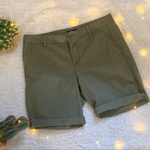 Gap Olive Green Shorts Size 2